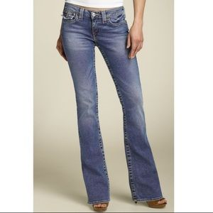True Religion Becky bootcut flare blue jeans 29